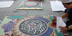 ajarkan seni kaligrafi